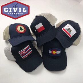 CIVILSTANDARD【シビルスタンダード】野球帽ベースボールキャップメンズ
