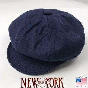 アメリカ製送料無料NEWYORKHAT【ニューヨークハット】6216コットンキャスケット