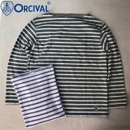 フランス製送料無料ORCIVAL【オーシバル(オーチバル)】ボートネックボーダーバスクシャツ【smtb-m】