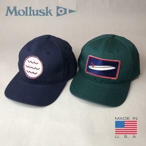アメリカ製送料無料MOLLUSK【モラスク】コットンベースボールキャップ帽子メンズ(男性用)【smtb-m】