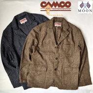 送料無料CAMCO【カムコ】TWEED3BJACKETツイードウールテーラードジャケットメンズ(男性用)【smtb-m】