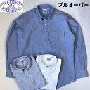 送料無料 BAGGY【バギー】2 OX B.D PULL L/S 長袖 プルオーバー オックスフォードシャツ メンズ(男性用)【smtb-m】