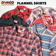 送料無料CAMCO【カムコ】20202FLANNELL/Sダブルフェイスヘビーフランネルシャツネルシャツ長袖シャツXS-LL(XL)メンズ(男性用)【smtb-m】