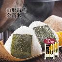 米 10kg(5kg×2袋) 山形県産 ブレンド米「金賞米」...