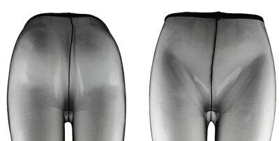 【4足までメール便OK】極薄 超薄 薄手 透明感 3デニール 3D オールスルー ストッキング パンス...