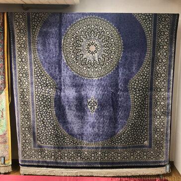 ペルシャ絨毯 シルク クム マスミ工房 QUM MASOUMI