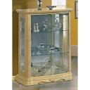 [送料無料] サルタレッリ アマルフィ2ドアカップボード キュリオ (食器棚 飾り棚) アイボリー 幅92cm / ...