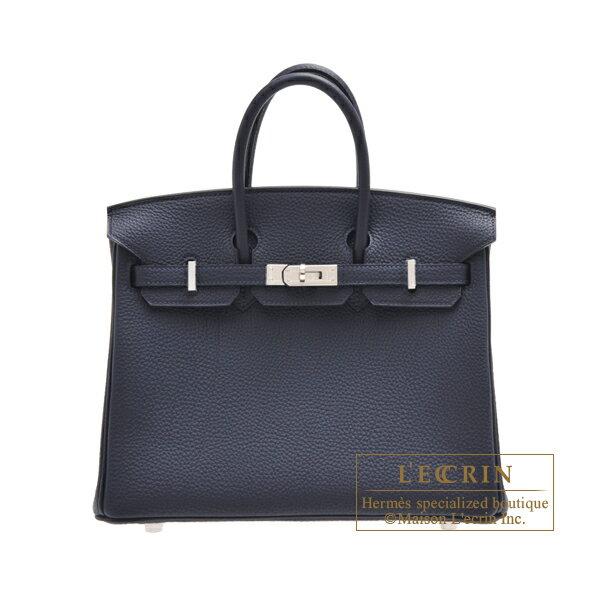 エルメス バーキン25 ブルーニュイ トゴ シルバー金具 HERMES Birkin bag 25 Blue nuit Togo leather Silver hardware
