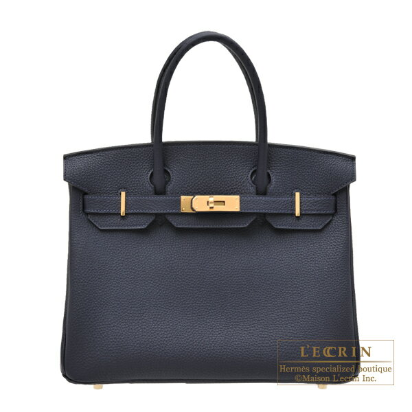 エルメス バーキン30 ブルーニュイ トゴ ゴールド金具 HERMES Birkin bag 30 Blue nuit Togo leather Gold hardware