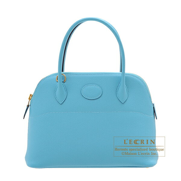 レディースバッグ, ハンドバッグ  27 HERMES Bolide bag 27 Blue du nord Epsom leather Gold hardware