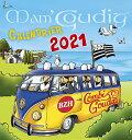 カレンダー フランス マム・グディッグ 2021年 卓上カレンダー- France Mom Goudig Mini Calendar Pornic, Belle lie En Mer etc