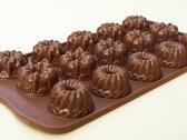【シリコマート Silikomart】【チョコレート型】シリコンモールド・FANTASIA【シリコンゴム型】EASY CHOCO