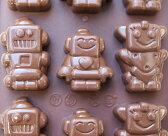 【シリコマート Silikomart】【チョコレート型】シリコンモールド・ROBOT【シリコンゴム型】EASY CHOCO