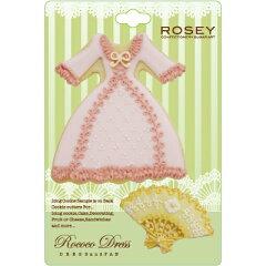 ROSEY クッキー型/ロココドレスセット