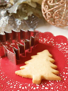【STADTER】 クッキー抜き型 クリスマスツリー(モミの木)  【ドイツのクッキー型】