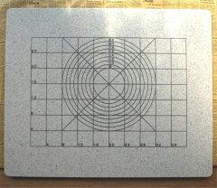 マス目で製パン、円でパイやタルト作り!マス目は4cm四方で円は8cm〜22cmまで書かれております...