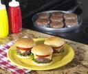 形のそろった美味しいハンバーグが簡単に7個焼けるグリルパン【4月特価品】 ノルディック バー...