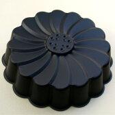 【マルグリット型】Black 17cm【シリコン加工】フラワー型