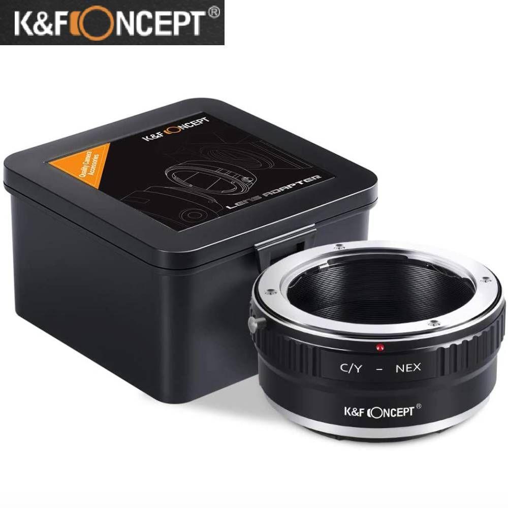 交換レンズ用アクセサリー, マウントアダプター KF Concept CY-NEX CY- SONY ( NEX) E e CONTAX YASHIICA