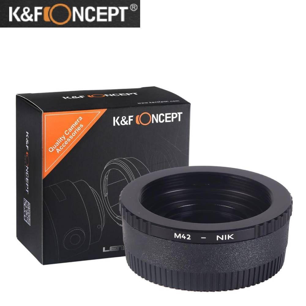 交換レンズ用アクセサリー, マウントアダプター KF Concept M42 - NIKON M42- Nikon