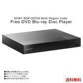 リージョンフリー DVDプレーヤー BDP-S6700 BDプレーヤー 3Dブルーレイ再生対応 4Kアップコンバート対応 無線LAN搭載 HDMIケーブル・日本語説明書付