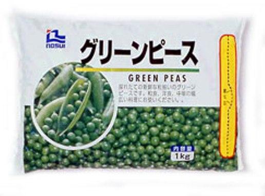 冷凍野菜 ノースイ)グリーンピース 1kg