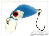 【BLINK ORIGINAL LURES】 エリアクランク ぷちBEANS ミントブルー バルサ製マイクロクランクベイト [ハンドメイドルアーのギジェット]
