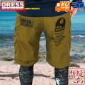 [DRESS]ハーフパンツコヨーテ[S〜XXXL]ひざ丈テフロン撥水加工速乾性フィッシングアウトドアスポーツメンズMen's