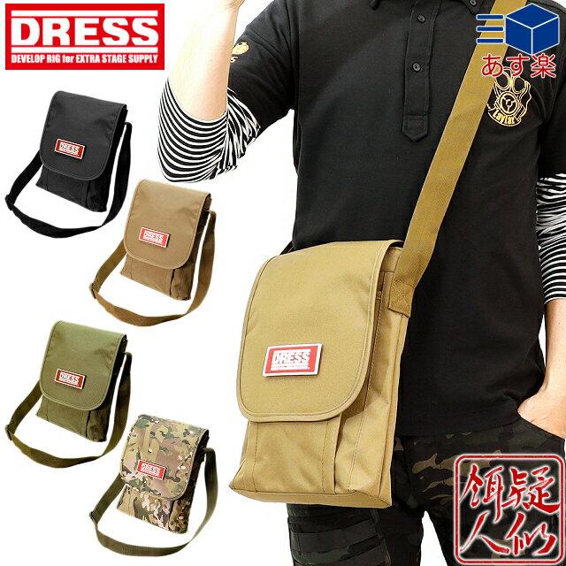 バッグ・ケース, バッグ 5DRESS() MILITARY LENGTHWISE SHOULDER BAG(25cm30cm6cm)DRESS