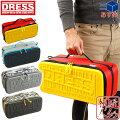 [DRESS]ユーティリティーセミハードケースL[ブルー/レッド]EVA製ツールバッグリールバッグ