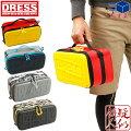 [DRESS]ユーティリティーセミハードケースM[ブルー/レッド]EVA製ツールバッグリールバッグ