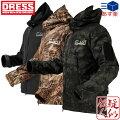 [DRESS(ドレス)]タクティカルジャケット[MCブラック/ブラック/パイソンブラウン]シャークスキン素材[サイズ:S/M/L/XL/XXL/XXXL]フィールドジャケットメンズMen's