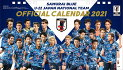 JFA創立100周年記念企画1921-2021歴代日本代表ベストイレブンカレンダー