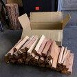 能登産スギ26cm乾燥焚付材 6kg 箱入(北陸A) 樹皮を除去した小割薪は虫がほとんど付きません 屋内長期保管可能 焚付用・BBQ・飯盒炊さん・炊き出し・餅つき・焚火台・ディスプレイ用に