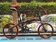 送料税込み!ハチコHACHIKO高炭素鋼折り畳み自転車SHIMANOシマノ7段変速 20インチ[98%完成品] 黒(HA02_Black)