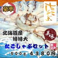 送料無料北海道産特特大たこしゃぶセット500g珍味しゃぶしゃぶ豪華ごちそうお正月※離島・一部の地域は追加料金がかかります。
