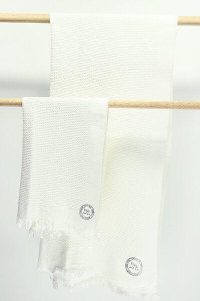 KhadiandCoHomeカディアンドコーホームEPICEエピスデザイナ—BessNielsenによるデザインハンドメイドタオルコットン100%TOWEL-ABEILL-A【RCP】