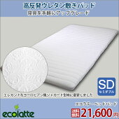 【ecolatteエコラテ】Pタイプ(ベッドパッド)SD