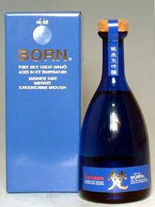 ベネチアンブルーのボトルに入った地球 梵 地球(ほし)純米大吟醸 500ml瓶 専用紙箱入り●50...