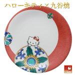 ハローキティ九谷焼丸紋角皿
