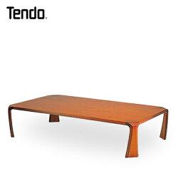 天童木工座卓ケヤキ板目KB色(幅150タイプ)
