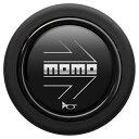 MOMOホーンボタンアロー マットブラック HBR02センターリン...