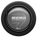 MOMOホーンボタンアロー グレー HBR01センターリング付ステ...