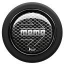 MOMOホーンボタンアロー カーボン HBR04センターリング付ス...