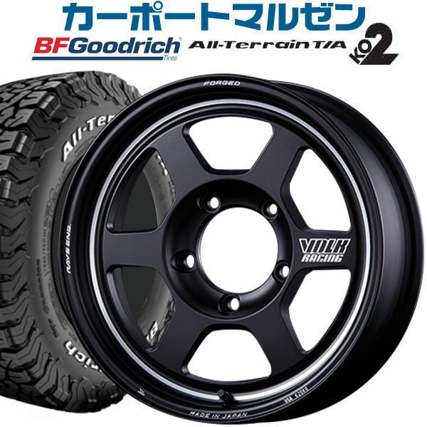 タイヤ・ホイールセット, サマータイヤ・ホイールセット 4 VOLK RACING TE37 X UL16inch 5.5J5-139 200(6.0J -52,800)BF TA KO2 (RWL)21570R16 LT 10097R