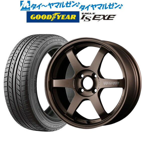 タイヤ・ホイールセット, サマータイヤ・ホイールセット 4 TE37 SONIC()(BR)()16 7.0J LS EXE20550R16 87V
