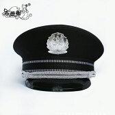 ポリス 帽子 警官 ハット 小物 コスチューム ハロウィン コスプレ 警察 【M001】コスプレ ポリス 本格的