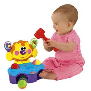 【取寄品】リズムでとんとん!ライオンP8792 フィッシャープライス【マテル・おもちゃ・玩具・ベビー用品】【T】[プレゼント・ギフト・お祝い]【取寄品】