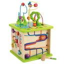 ハペ HAPE カントリークリッターズプレイキューブ E1810A送料無料 おもちゃ 知育玩具 木のおもちゃ ベビー 【TC】