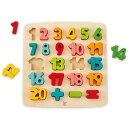 ハペ HAPE 数字のパズル E1550Aおもちゃ 知育玩具 木のおもちゃ パズル 【TC】